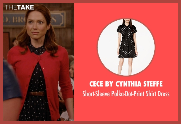 CeCe by Cynthia Steffe  black dress from Unbreakable Kimmy Schmidt seen with Kimmy Schmidt (Ellie Kemper)
