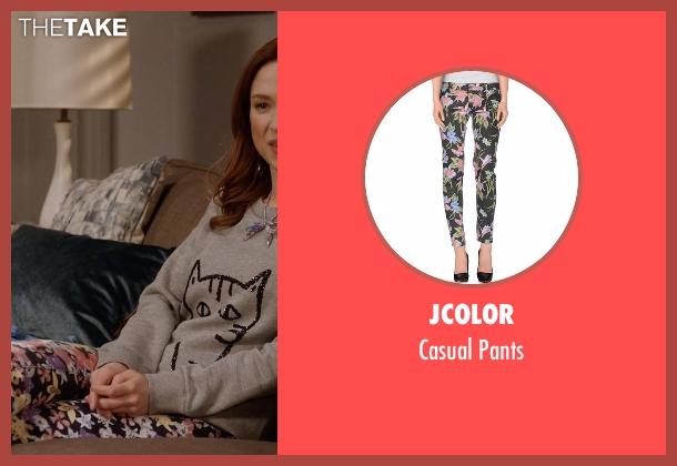 Jcolor black pants from Unbreakable Kimmy Schmidt seen with Kimmy Schmidt (Ellie Kemper)