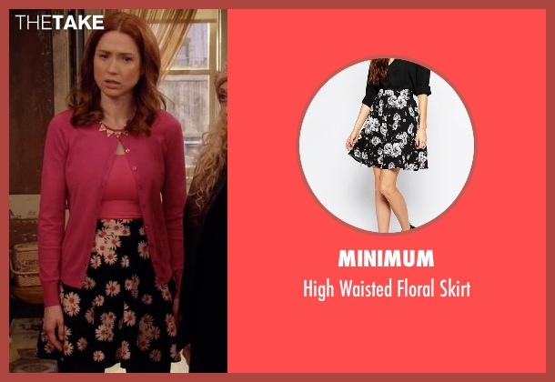 Minimum black skirt from Unbreakable Kimmy Schmidt seen with Kimmy Schmidt (Ellie Kemper)
