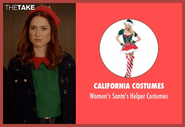 California Costumes costumes from Unbreakable Kimmy Schmidt seen with Kimmy Schmidt (Ellie Kemper)