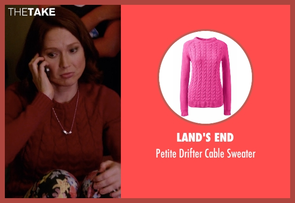 Land's End pink sweater from Unbreakable Kimmy Schmidt seen with Kimmy Schmidt (Ellie Kemper)
