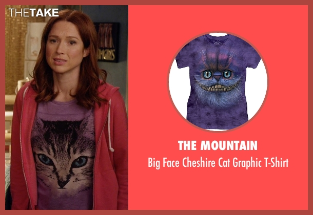 The Mountain purple t-shirt from Unbreakable Kimmy Schmidt seen with Kimmy Schmidt (Ellie Kemper)