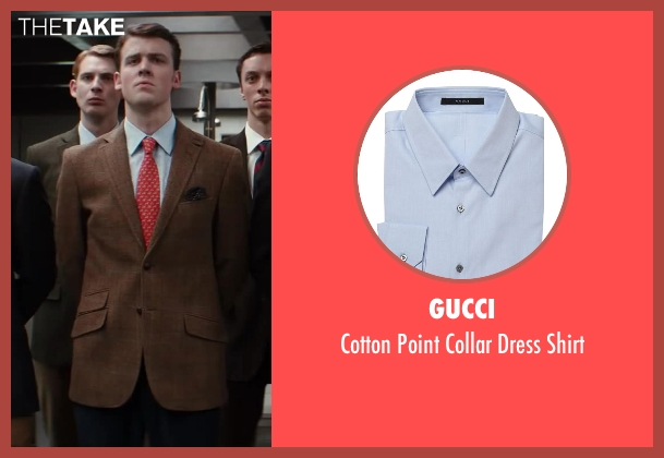 Gucci blue shirt from Kingsman: The Secret Service