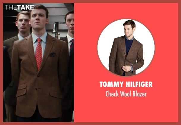 Tommy Hilfiger brown blazer from Kingsman: The Secret Service