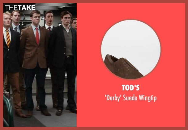 Tod's brown wingtip from Kingsman: The Secret Service