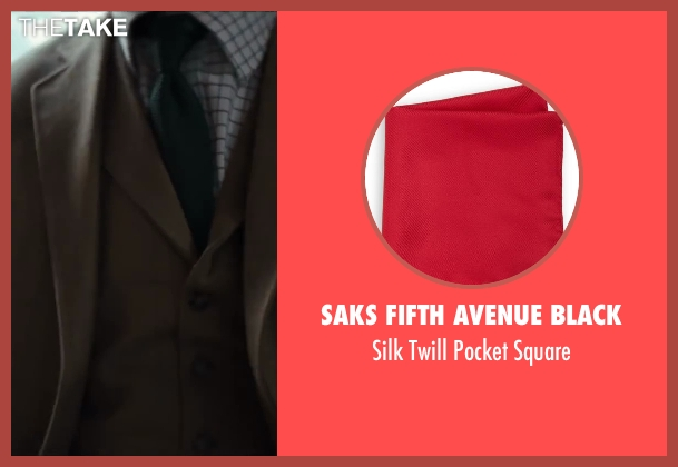 Saks Fifth Avenue BLACK red square from Kingsman: The Secret Service