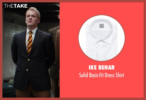 Ike Behar white shirt from Kingsman: The Secret Service
