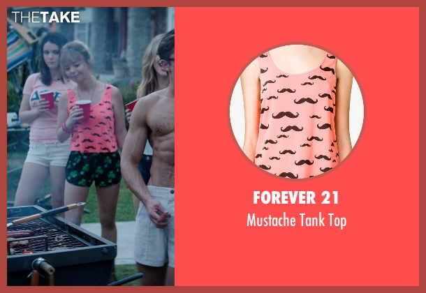 Forever 21 pink top from Neighbors seen with Kira Sternbach (Brittany)