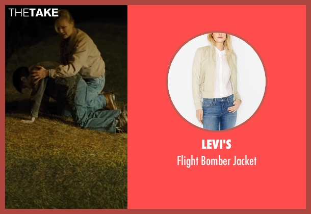 Levi's beige jacket from Midnight Special seen with Kirsten Dunst (Unknown Character)
