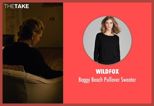 Wildfox black sweater from Midnight Special seen with Kirsten Dunst (Unknown Character)