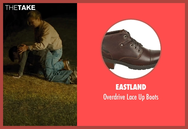 Eastland brown boots from Midnight Special seen with Kirsten Dunst (Unknown Character)
