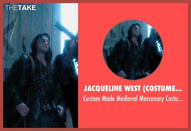 Jacqueline West (Costume Designer) costume from Seventh Son seen with Kit Harington (Billy Bradley)