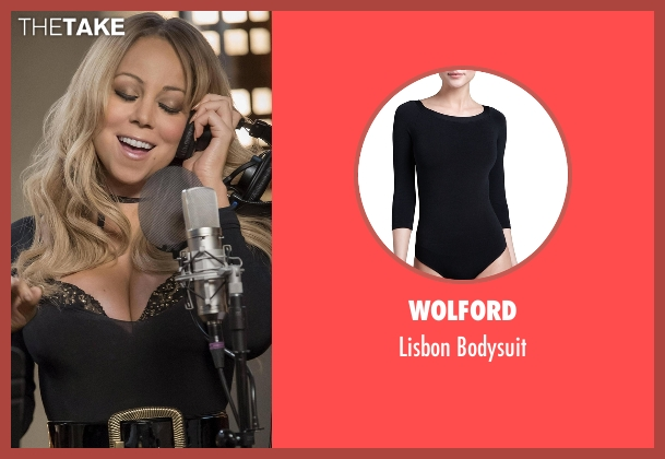 Wolford  black bodysuit from Empire seen with Kitty (Mariah Carey)