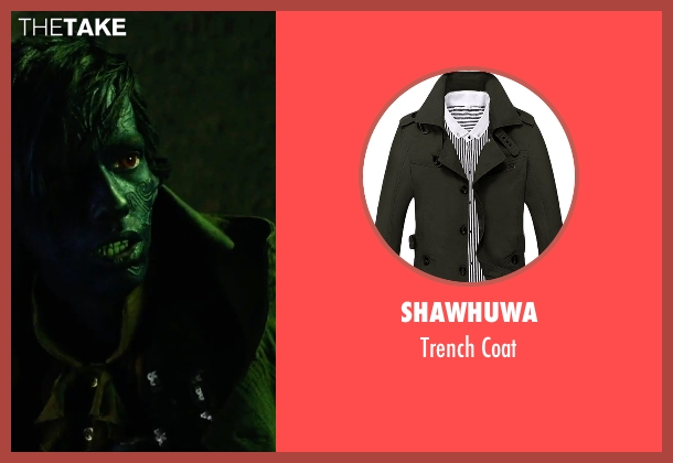Shawhuwa green coat from X-Men: Apocalypse seen with Kodi Smit-McPhee (Kurt Wagner / Nightcrawler)
