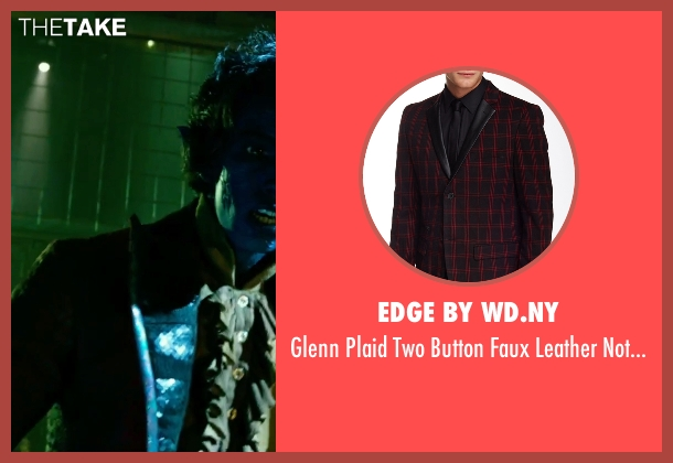 Edge By WD.NY red coat from X-Men: Apocalypse seen with Kodi Smit-McPhee (Kurt Wagner / Nightcrawler)