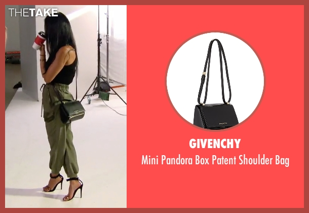 Givenchy black bag from Keeping Up With The Kardashians seen with Kourtney Kardashian