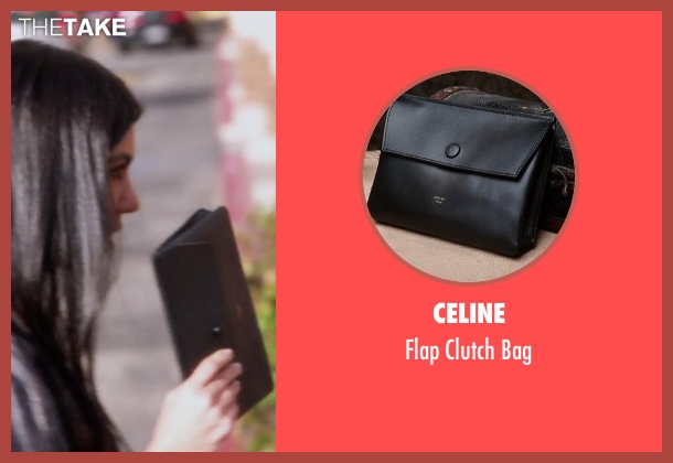 Celine black bag from Keeping Up With The Kardashians seen with Kourtney Kardashian