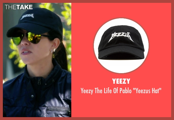 "Yeezy black hat"" from Keeping Up With The Kardashians seen with Kourtney Kardashian"