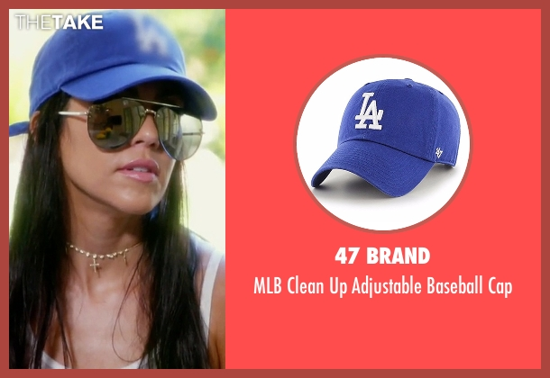 47 Brand blue cap from Keeping Up With The Kardashians seen with Kourtney Kardashian