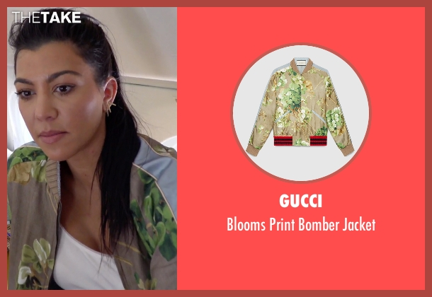 Gucci brown jacket from Keeping Up With The Kardashians seen with Kourtney Kardashian