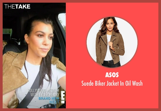 Asos brown wash from Keeping Up With The Kardashians seen with Kourtney Kardashian