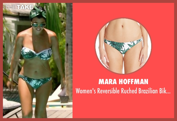 Mara Hoffman green bottom from Keeping Up With The Kardashians seen with Kourtney Kardashian