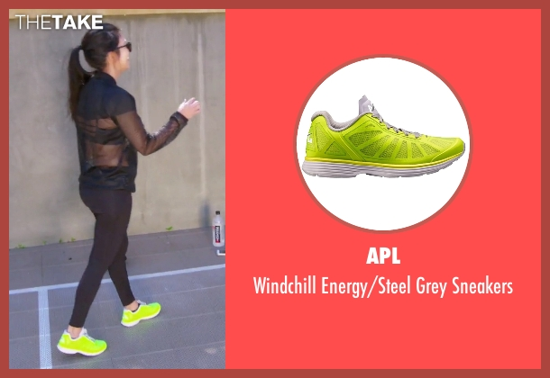 APL green sneakers from Keeping Up With The Kardashians seen with Kourtney Kardashian