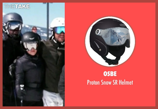 Osbe helmet from Keeping Up With The Kardashians seen with Kourtney Kardashian