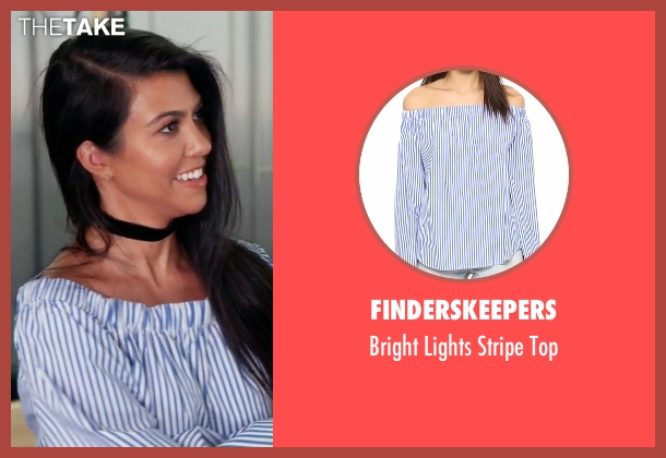 Finderskeepers top from Keeping Up With The Kardashians seen with Kourtney Kardashian