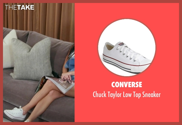 Converse white sneaker from Keeping Up With The Kardashians seen with Kourtney Kardashian