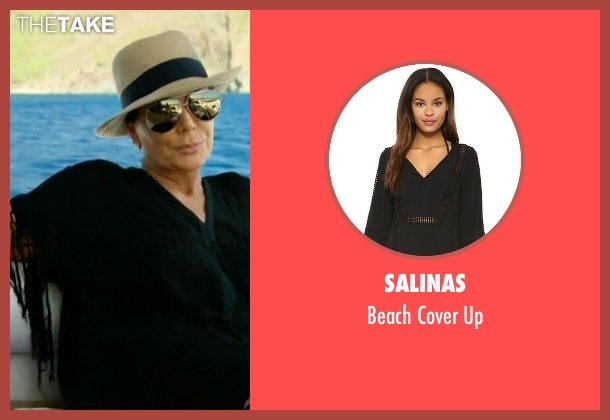 Salinas black up from Keeping Up With The Kardashians seen with Kris Jenner