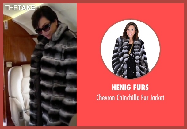 Henig Furs jacket from Keeping Up With The Kardashians seen with Kris Jenner