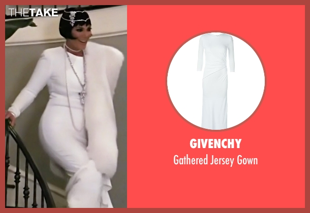 Givenchy white gown from Keeping Up With The Kardashians seen with Kris Jenner