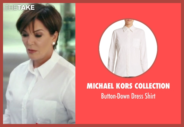 Michael Kors Collection  white shirt from Keeping Up With The Kardashians seen with Kris Jenner