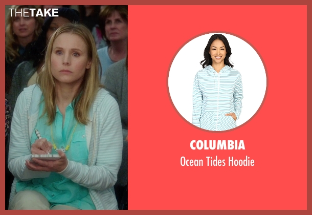 Columbia blue hoodie from Bad Moms seen with Kristen Bell (Kiki)