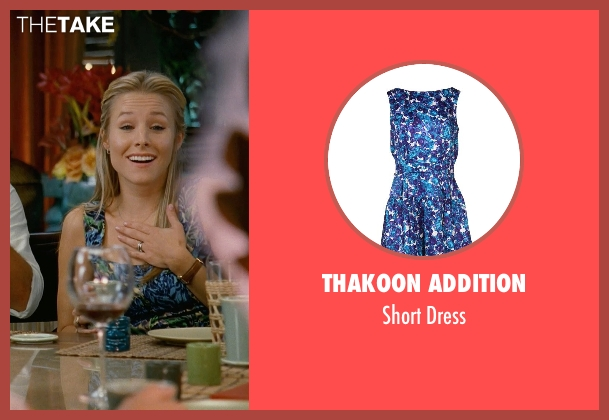 Thakoon Addition blue dress from Couple's Retreat seen with Kristen Bell (Cynthia)