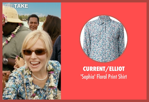Current/Elliot blue shirt from Couple's Retreat seen with Kristen Bell (Cynthia)