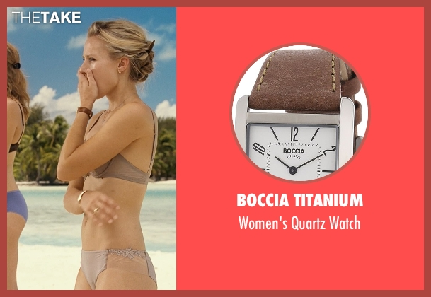 Boccia Titanium brown watch from Couple's Retreat seen with Kristen Bell (Cynthia)