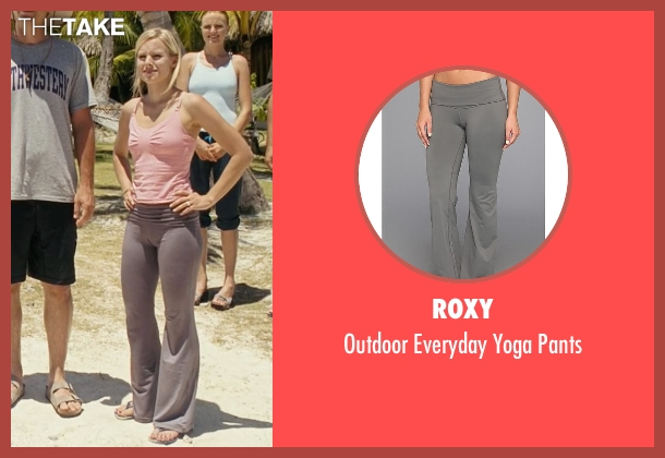 Roxy gray pants from Couple's Retreat seen with Kristen Bell (Cynthia)