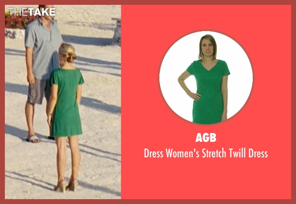 AGB green dress from Couple's Retreat seen with Kristen Bell (Cynthia)
