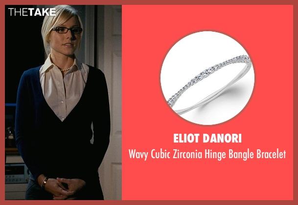 Eliot Danori white bracelet from Couple's Retreat seen with Kristen Bell (Cynthia)