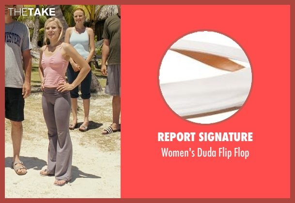 Report Signature white flop from Couple's Retreat seen with Kristen Bell (Cynthia)