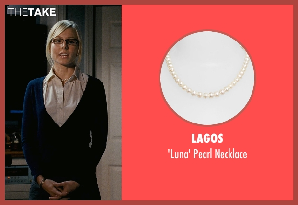 Lagos white necklace from Couple's Retreat seen with Kristen Bell (Cynthia)