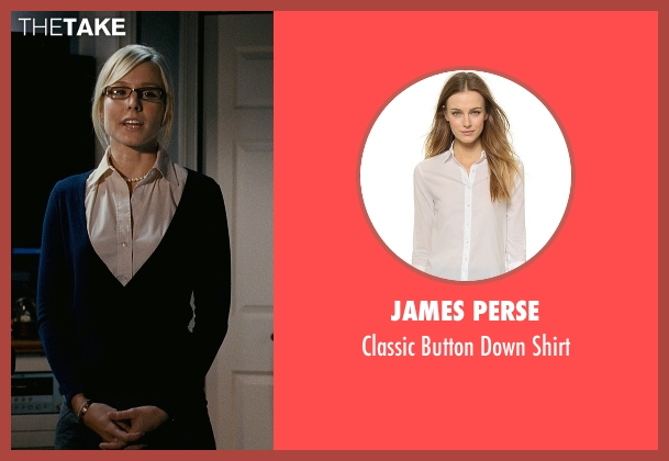 James Perse white shirt from Couple's Retreat seen with Kristen Bell (Cynthia)