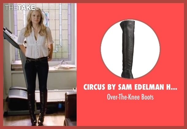 Circus By Sam Edelman Howell black boots from Forgetting Sarah Marshall seen with Kristen Bell (Sarah Marshall)