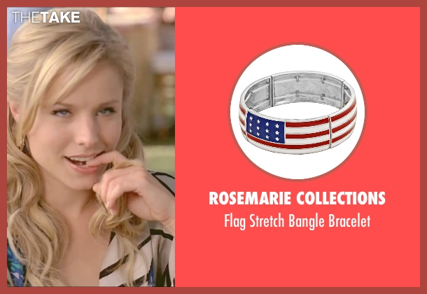 Rosemarie Collections blue bracelet from Forgetting Sarah Marshall seen with Kristen Bell (Sarah Marshall)