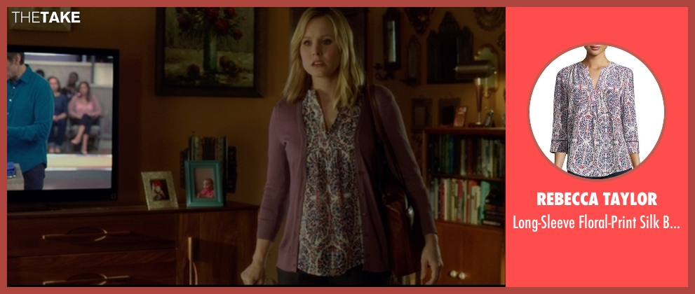 Rebecca Taylor blouse from The Boss seen with Kristen Bell (Claire)