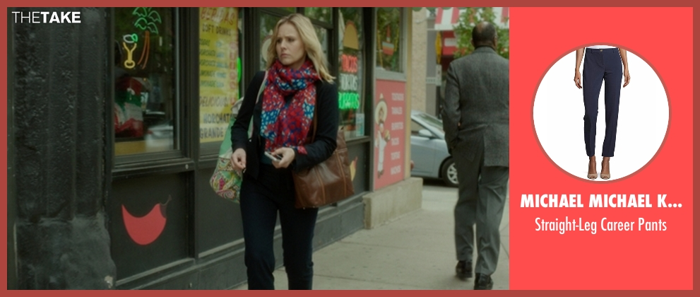 MICHAEL Michael Kors blue pants from The Boss seen with Kristen Bell (Claire)