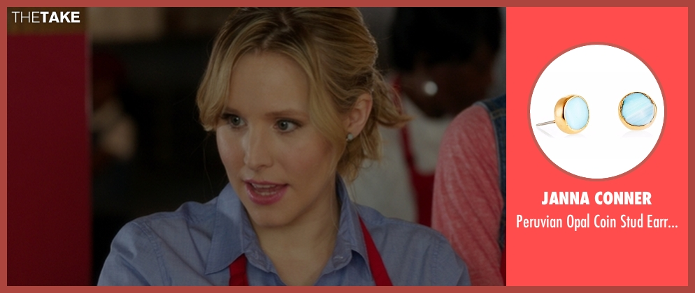 Janna Conner earrings from The Boss seen with Kristen Bell (Claire)