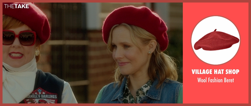 Village Hat Shop red beret from The Boss seen with Kristen Bell (Claire)